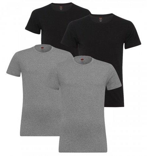 4er-Pack Levi's Crew-Neck T-Shirts für Herren nur 32,99€ inkl. Versand