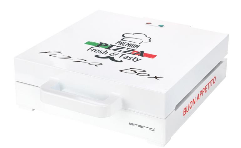 Emerio Pizzamaker im Pizzakarton Design ab 33€ (statt 48€)
