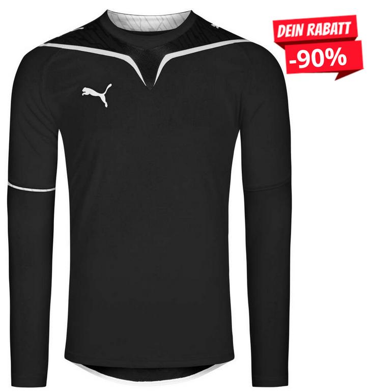 Puma V-Konstrukt Jersey Herren Langarm Trikot (nur Größe L!) für je 4,44€