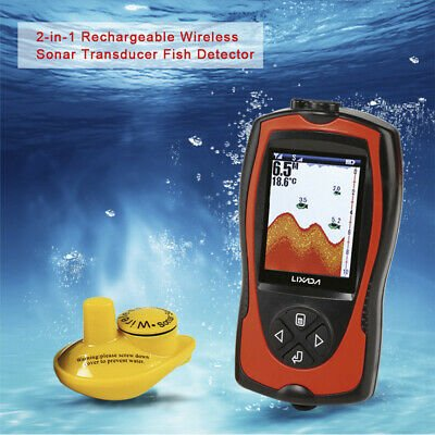 Lucky P3Y0 tragbarer 2-in-1 Sounder Fisch Detektor / Sonar für 55,99€