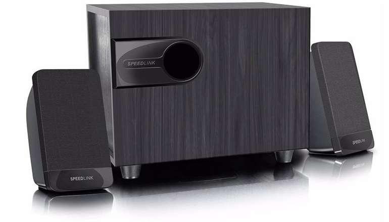Speedlink Libitone - 2.1 Lautsprechersystem mit Subwoofer für 13,49€ inkl. Versand (B-Ware)
