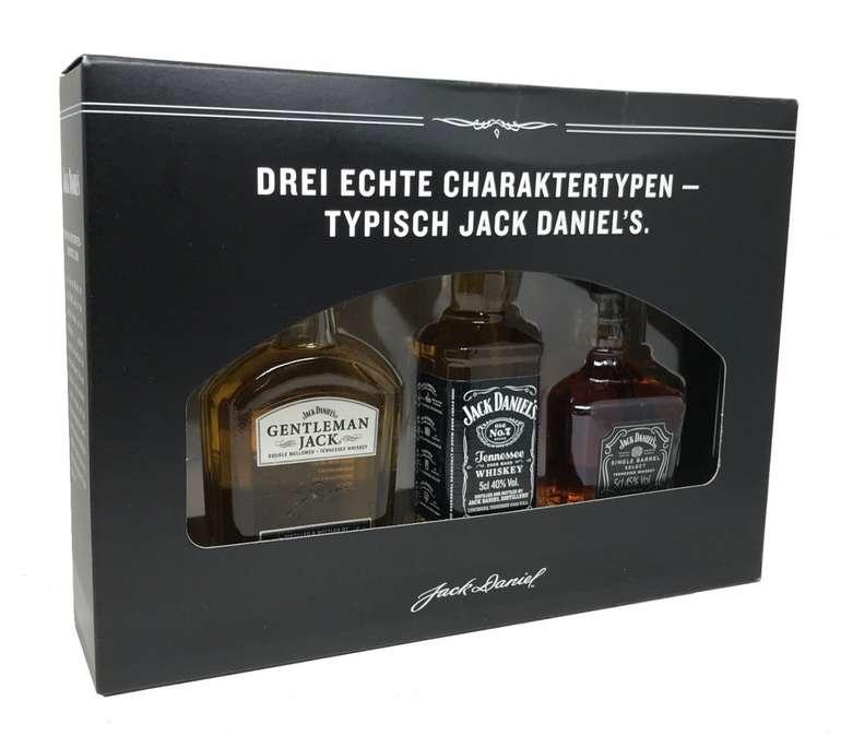 Jack Daniel's Verkostungsset mit 3x 50ml Whiskey für 12,59€ inkl. VSK