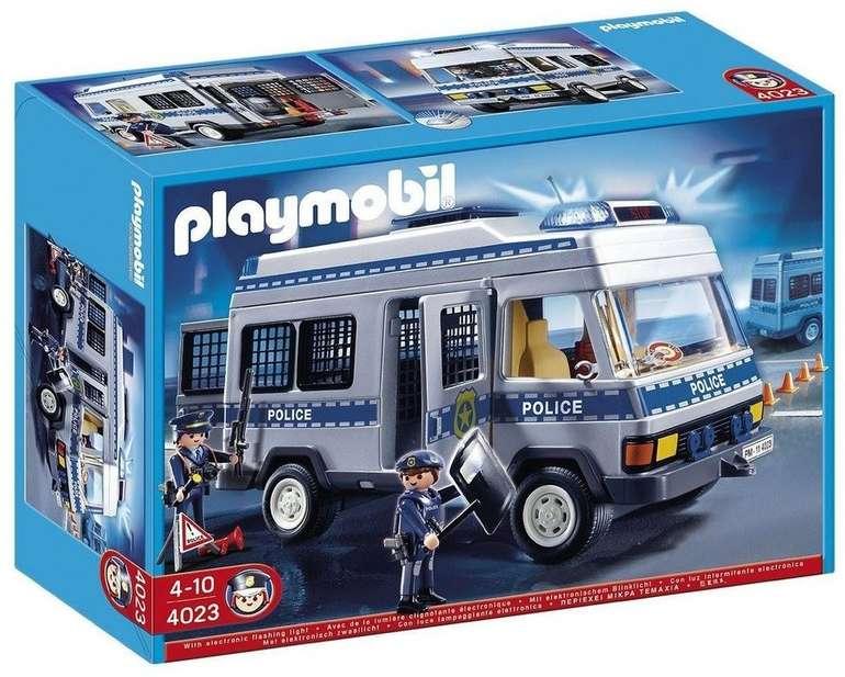 Playmobil 4023 - Polizei Mannschaftswagen für 27,69€ inkl. Versandkosten (statt 36€)