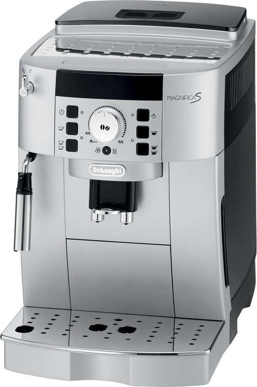 De'Longhi Magnifica S ECAM 22.110.SB Kaffeevollautomat mit 1.450 Watt in Silber für 249€