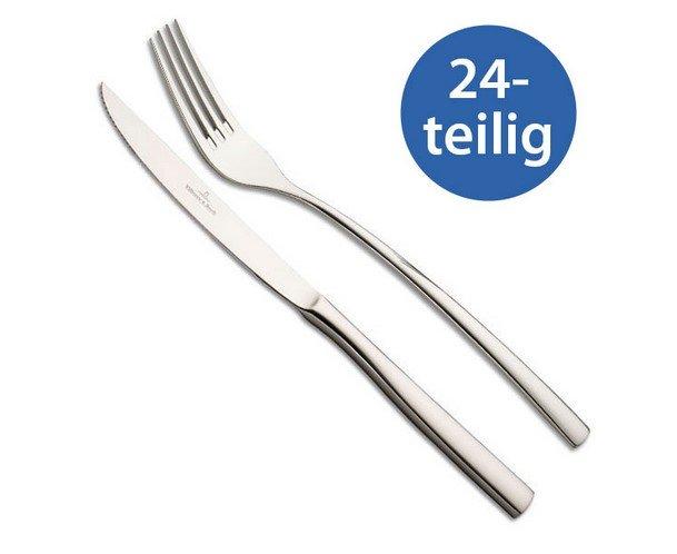 Villeroy & Boch Piemont Steakbesteck 24tlg. Grillbesteck für 44,99€ inkl. Versand (statt 70€)