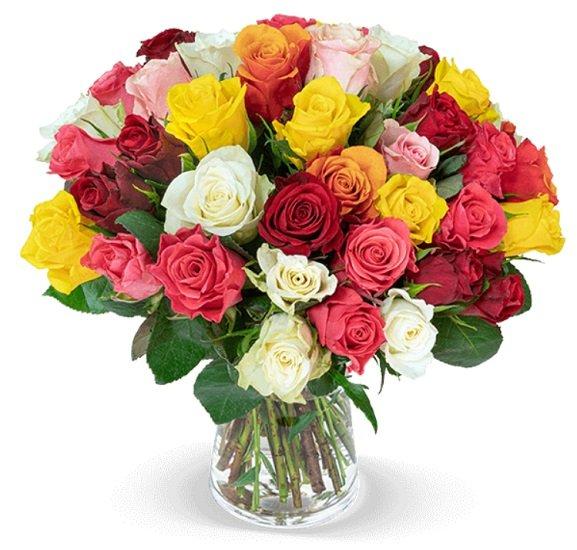 """40 Rosen im Blumenstrauß """"Crazy in Love"""" für 24,98€ inkl. Versand (statt 37€)"""