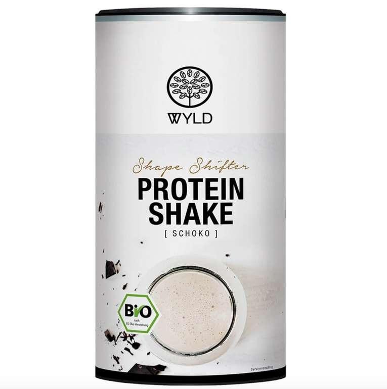 """450g WYLD Bio Protein Shake """"Shape Shifter"""" (Schokolade oder Erdbeer-Kokos) für 6,49€ inkl. Versand (MHD)"""