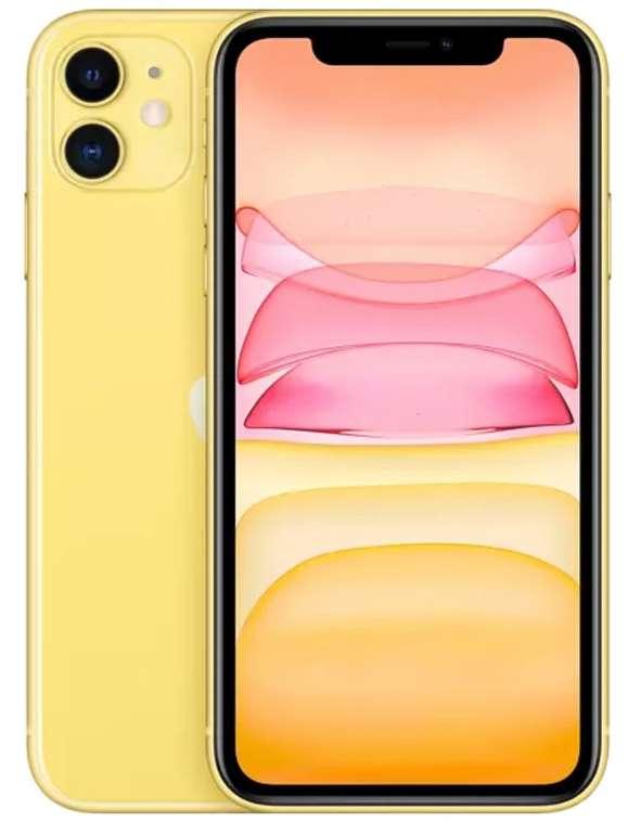 Media Markt & Saturn im Smartphone Fieber, z.B. Apple iPhone 11 256GB Gelb Dual SIM für 689€ (statt 778€)