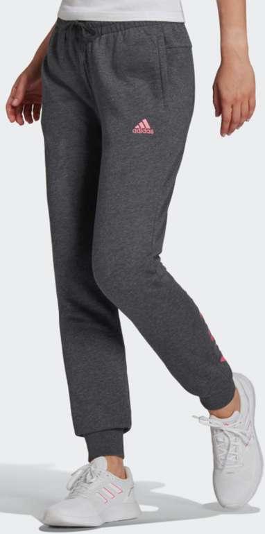 Adidas Essentials French Terry Logo Damen Hose für 28€ inkl. Versand (statt 33€)