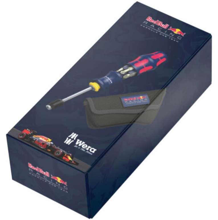 7-tlg. Wera Red Bull Racing Sonderedition Kraftform Kompakt 20 Set für 24,90€ (statt 33€)