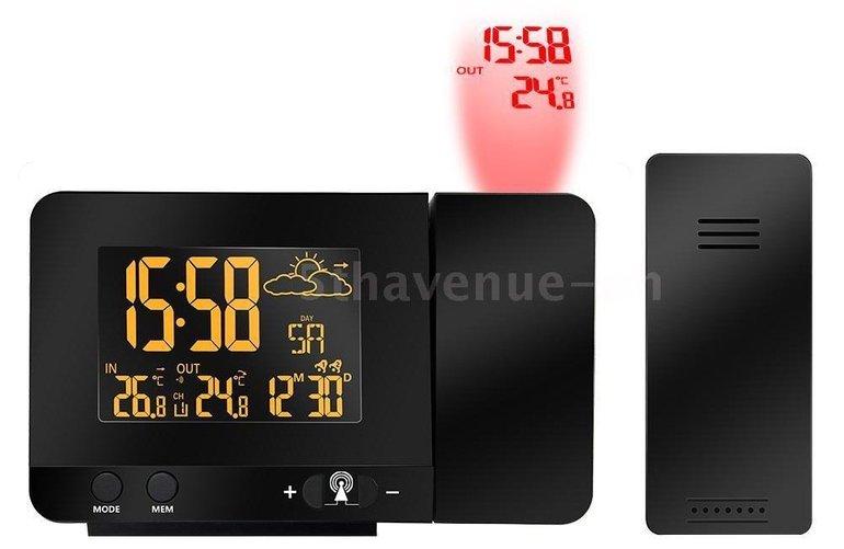 LED-Wecker mit Funk-Wetterstation für 23,78€ inkl. Versand