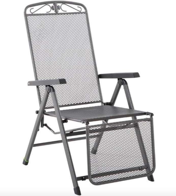 MWH Relaxsessel Savoy - klappbarer Gartenstuhl aus Stahl (verstellbar in 5 Postionen) für 99€ inkl. Versand