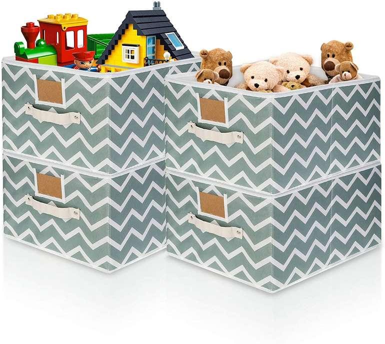 King Do Way 4er Pack faltbare Aufbewahrungsboxen für 14,39€ inkl. Prime Versand (statt 24€)