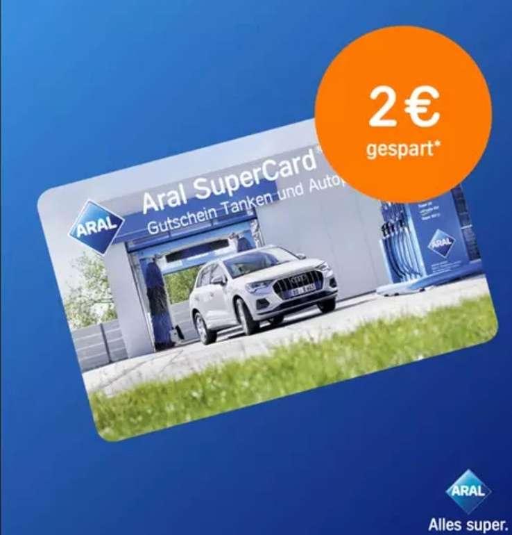 """Groupon: Aral SuperCard """"Einkaufen und Tanken"""" im Wert von 42€ für 40€ kaufen"""