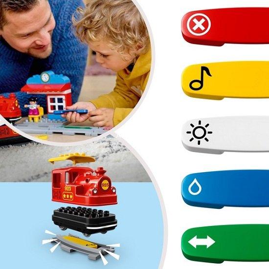 LEGO Duplo 10874 - Dampfeisenbahn 2