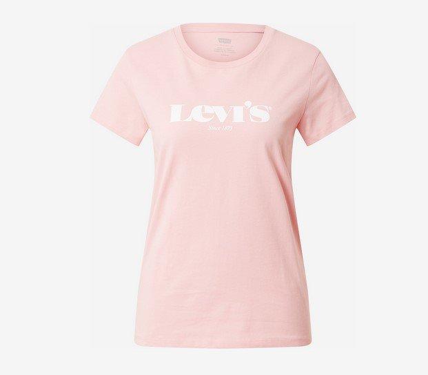 Levi's Damen Shirt in rosa / weiß für 21,52€ inkl. Versand (statt 30€)