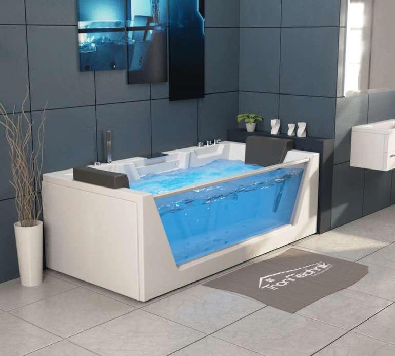 Tronitechnik Whirlpool Badewanne Mykonos (180cm x 88cm) für 1.159€ inkl. Versand (statt 1.379€)