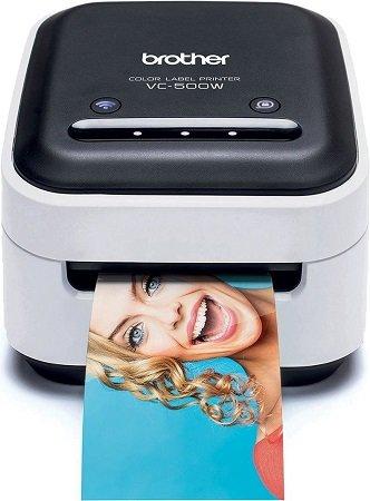 Brother P-Touch Color VC500W - Farb-Etikettendrucker mit WLAN für 94,99€