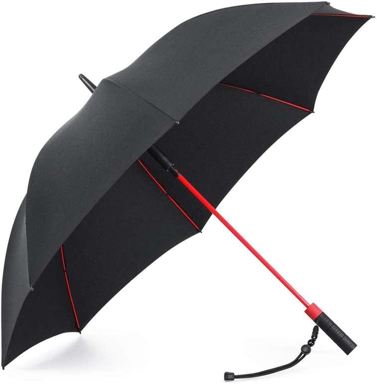 Plemo Regenschirm für zwei Personen (120 cm Durchmesser, sturmfest) für 17,99€ inkl. Prime Versand