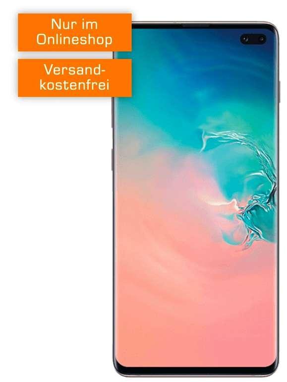 Samsung Galaxy S10 Plus (77€) + green LTE (D2, All-Net, 6GB LTE Datenvolumen) je 21,99€ mtl.