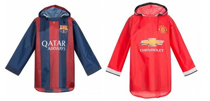 FC Barcelona & Manchester United FC Ponchos für 8,94€ ink. VSK