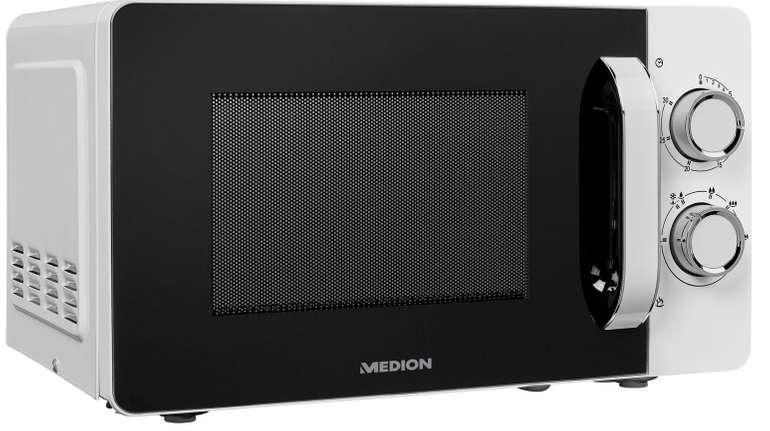 Medion MD 18687 Mikrowelle mit 20L Garraum und 700W für 44,95€ inkl. Versand (statt 60€)