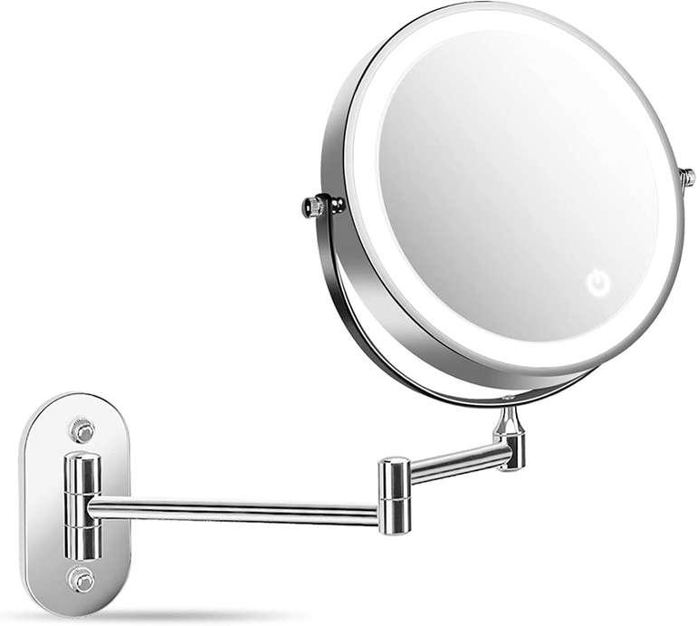 Alvorog LED Kosmetikspiegel (Wandmontage, Touchscreen) für 15,99€ inkl. Versand (statt 18€)