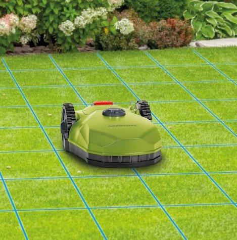 Medion MD19727 Mähroboter mit 16cm Schnittbreite für 400 m² Rasenfläche für 299,95€ (statt 356€)