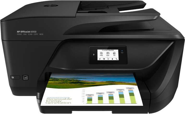 HP OfficeJet 6950 E-All-in-One Tintenstrahldrucker für 59,99€ inkl. VSK