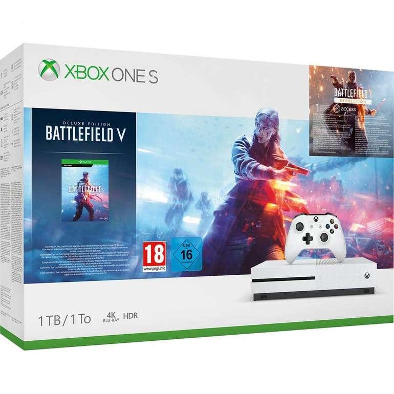 Xbox One S 1TB - Battlefield V: Deluxe Edition Bundle für 169€ inkl. Versand (statt 199€)