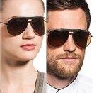Emporio Armani EA9807 - Unisex Sonnenbrille (UV 400) für 56,89€ (statt 90€)
