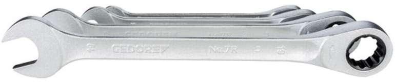 Gedore SB 7 R-004 4-teiliger Ringratschenschlüssel Satz für 35,14€ inkl. Versand (statt 57€)