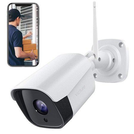 Victure Outdoor WLAN CCTV Überwachungs-Kamerasystem mit Nachtsicht für 39,99€