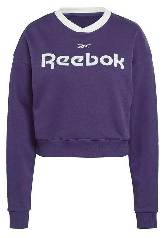 Reebok Damen Sportsweatshirt in Dunkellila für 10,97€ inkl. Versand (statt 27€)