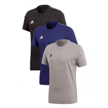 adidas Shirt Core 18 im 3er Pack (verschiedene Farben) für je 27,95€