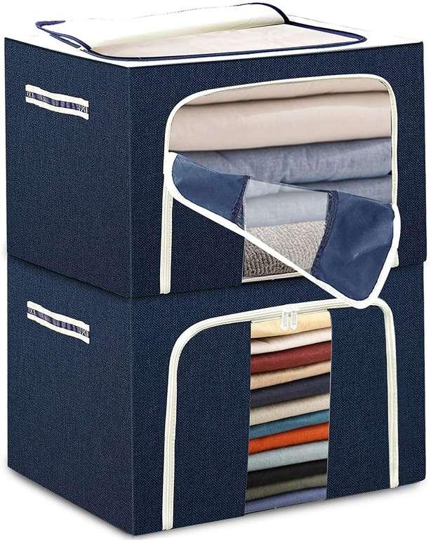 2er Pack Tulab faltbare Aufbewahrungsbox (50x40x36cm) für 17,99€ inkl. Versand (statt 36€)