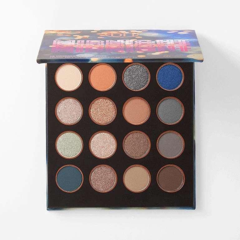BH-Cosmetics Midnight City Lidschatten-Palette mit 16 Farben für 8,94€ (statt 15€)
