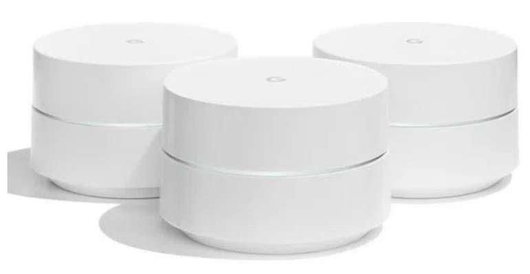 3er Pack Google Wifi Router für 145,90€ inkl. Versand (statt 188€)