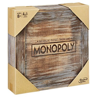 Hasbro Monopoly Holz Sonderedition für 23,99€ inkl. Versand (statt 40€)