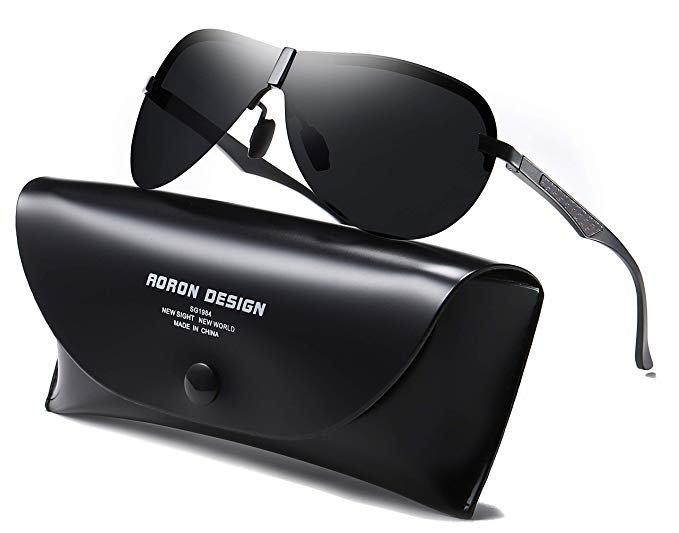 Aoron - polarisierte Herren Sonnenbrille mit UV400-Schutz für 10,59€ inkl. Prime Versand (statt 18€)