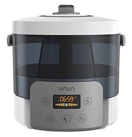 Vava Ultraschall-Luftbefeuchter mit Smart-LED-Bildschirm für 25,99€ inkl. Prime Versand