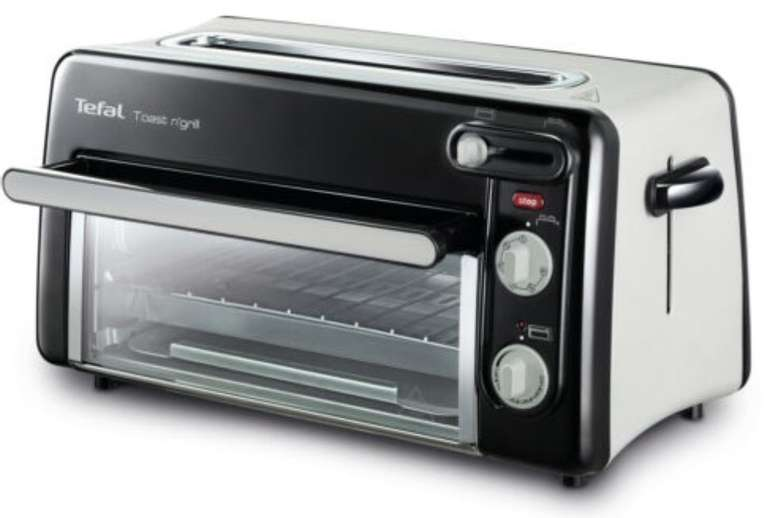 Tefal TL6008 Tefal Toast n' Grill (1300W, 2 Scheiben, 6 Röstgradstufen, Ofen bis 210°C) für 79,99€ (statt 92€)