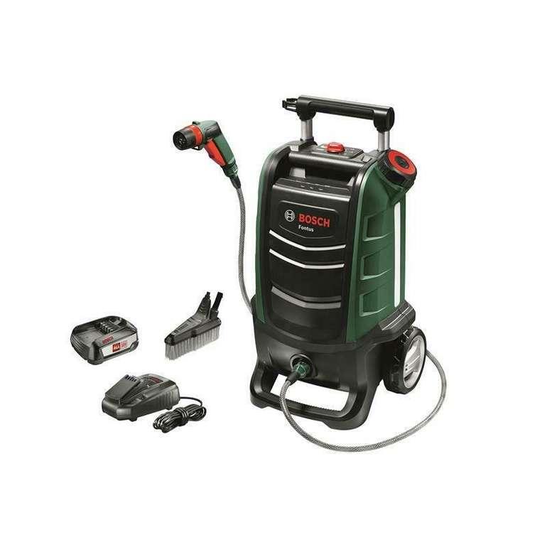 Bosch Fontus Akku Outdoor Reiniger mit 2,5Ah Akku & Ladegerät für 224,95€ inkl. Versand (statt 269€)