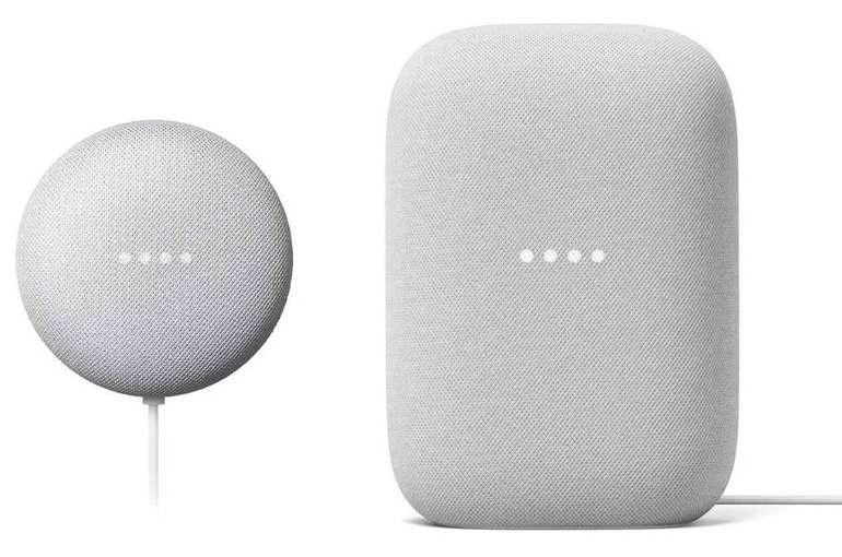Google Nest Audio + Google Nest Mini + 6 Monate gratis Spotify für 99€ inkl. Versand (statt 131€)