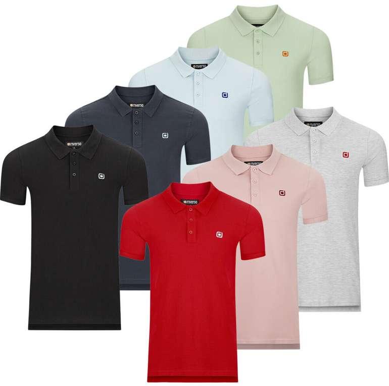 riverso Herren Poloshirt RIVJohn Basic (2er Pack) für 24,95€inkl. Versand (statt 30€)