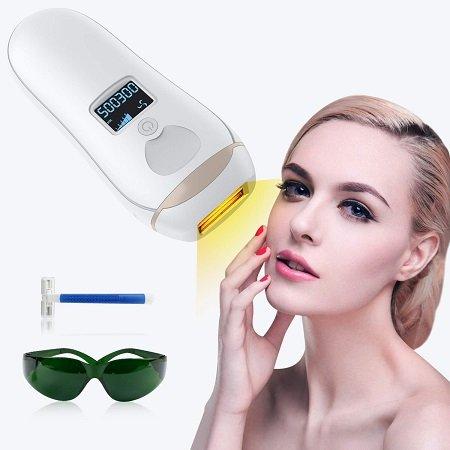 YUNDOO IPL Haarentfernungsgerät mit Lichtschutzbrille für 71,99€ inkl. VSK