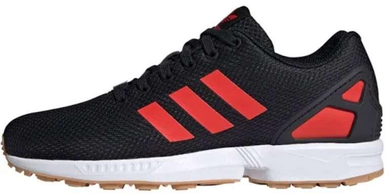 Adidas Originals Sneaker 'ZX Flux' in rot / schwarz für 56,50€ inkl. Versand (statt 76€)