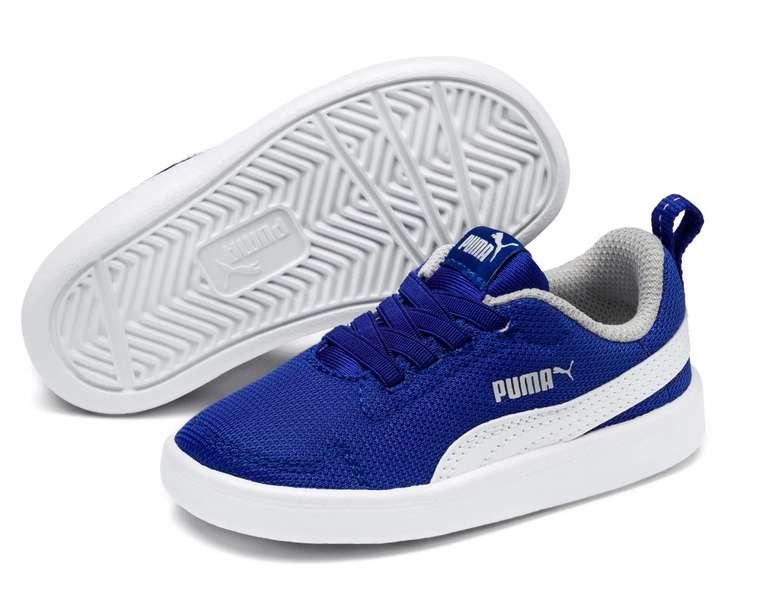 Puma Courtflex Mesh Kids Sneaker in 3 Farben für je 15,55€ inkl. Versand (statt 29€)