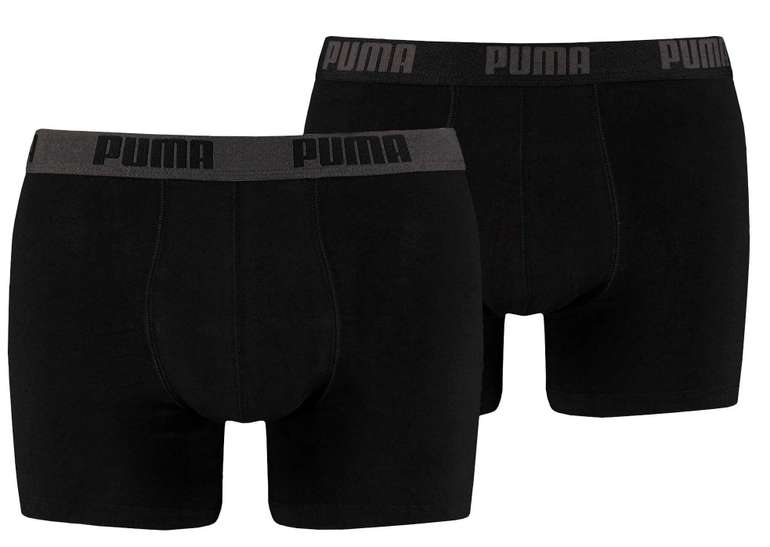 Puma Herren Basic Boxershorts 2er Pack für 13,26€ inkl. Versand (statt 17€) - viele Varianten