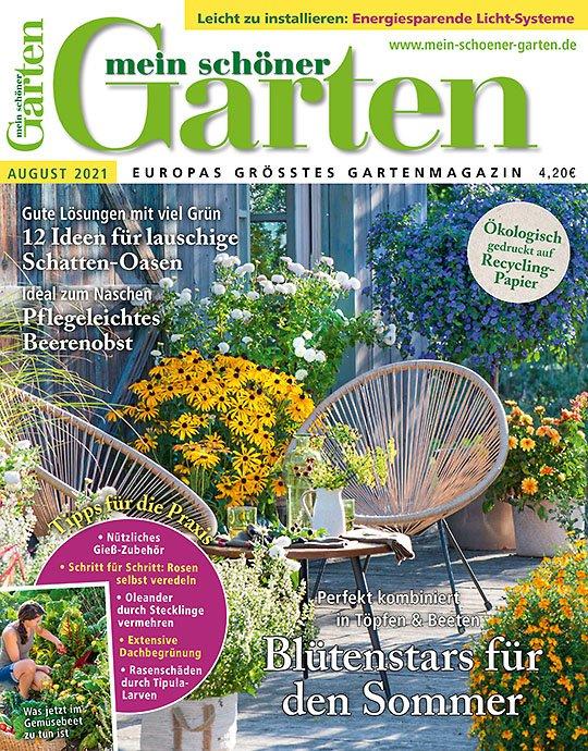 """6 Ausgaben """"Mein schöner Garten"""" für 25,20€ + 15€ Verrechnungscheck"""